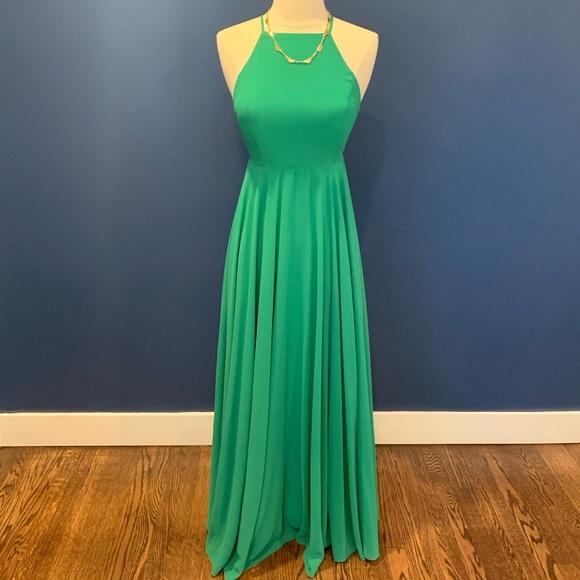 Lulu's Dresses & Skirts - Lulus Green Maxi Dress (XS)